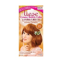 [Liese]Creamy Bubble Hair Color Sweet Apricot