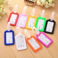 VANDER LIFE 10Pcs/Lot Travel Accessories Fashionable ABC Plastic Luggage Tag Super Cheap - intl