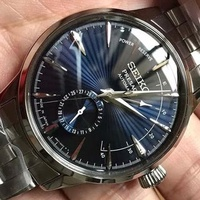 Seiko Presage Cocktail Time Blue Moon Power Reserve Japan Made SSA347 SSA347J1 SSA347J Watch