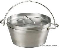SOTO 不鏽鋼荷蘭鍋/頂級不銹鋼合金露營鍋 ST-912 日本製 12吋