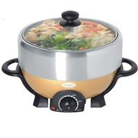 9.9 Sale! Europace ESB3391S Deluxe Steamboat with Grill 4L
