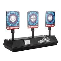 yiuu Electric Shooting Targets Auto Reset for Nerf Guns Toy Gun