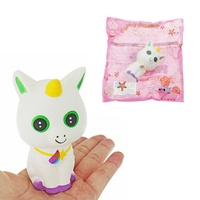Unicorn White Cat Squishy 15CM Slow Rising With Packaging Collection Gift Soft Toy