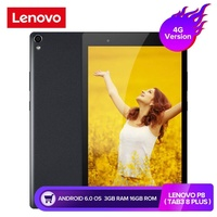 Lenovo P8 ( TAB3 8 Plus ) 4G/Wifi Version 8.0 inch tablet PC 3GB RAM 16GB ROM 4G Phablet Android 6.0 tablets support Google Play Store Snapdragon 625 Octa Core tablets 2.0GHz  Dual WiFi Cameras(Deep blue)