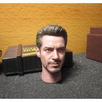 Y5頭雕館 鋼鐵人東尼1/6帥氣型男版頭雕一顆
