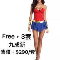 神力女超人服裝