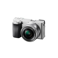 Sony Alpha 6400L/S 16–50 mm E-mount Camera - Silver