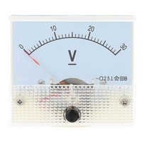 Miracle Shining 85C1 DC 0-30V Analog Volt Testing Meter Voltmeter Voltage Panel Gauge Tool