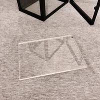 【MJM壓克力專賣】透明壓克力板 尺寸:120*70mm 厚度3mm 數量-10個