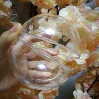 扭蛋殼 10cm高透明大號扭蛋球 口紅扭蛋機專用扭蛋殼