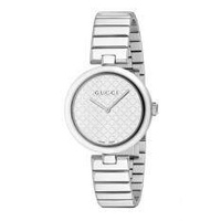 GUCCI Diamantissima White Dial Stainless Steel Small Ladies Watch Item No. YA141502