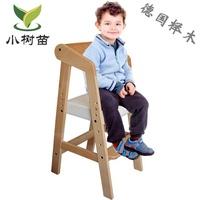 兒童椅子寶寶靠背椅實木可升降學習椅電腦寫字書桌吃飯餐椅矯姿椅  WD 聖誕節歡樂購