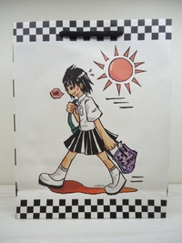 中山女高紀念紙袋 4 (制服款)