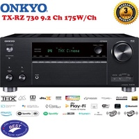 Onkyo Onkyo A/V Receiver TX-RZ730 9.2 Channel 4k Network