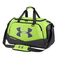 【In Stock】Under Armour_Travel Gym Duffle Luggage Bag with Shoe Compartment Unisex Large Portable Nylon Hand Carry Weekender Bag Women and Men Tote Bag