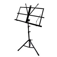 Korea Design Portable 3 adjustable steel portable music stand with case Folding Portable Music Stand with Carrying Bag Carry Music Stand Music Stand (EXPORT)