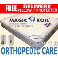 BEST LINK FURNITURE Magic Koil Orthopedic Care Pocketed Spring Mattress(King)