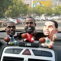 【買二送一】NBA搖頭公仔 足球 車載擺飾 車載公仔 大頭公仔 柯瑞 Curry Irving Messi  C羅
