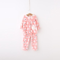 &quot Arbutus&quot  2015 new girls clothing for fall/winter suit soft breathable flannel pajamas