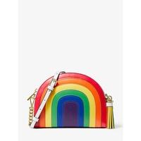 ㊣【Michael Kors】MK Ginny 彩虹 半月 斜背包 側背包 代購
