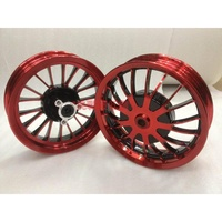 """""""挑戰最低價"""" RS.CUXI 10吋輪框 送氣嘴+培林+輪框貼 買一送三 ( NEW RSZ RS CUXI 輪圈 鋁圈 鋁框 )"""
