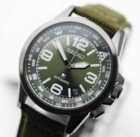 นาฬิกา SEIKO Prospex Automatic SRPC33K1 สายหนังบุผ้า