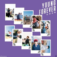 ALLKPOPER Kpop Bangtan Boys Lomo Photocards BTS YOUNG FOREVER Poster Card photoprint Include 30pcs