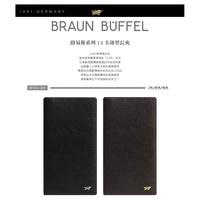 Braun buffel Small Gold Long Wallet Louis 14 Card Thin Male Clip 袋❤❤TW
