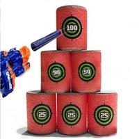 6PCS EVA Soft Bullet Target Gun Shoot Dart For Nerf N-strike Elite Blaster Kid Toy