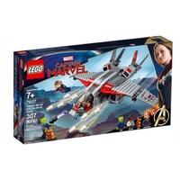 LEGO-Lt76127-SUPERHEROES Captain Marvel andThe Skrull Attack
