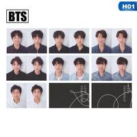 Kuhong 7Pcs/Set KPOP BTS Bangtan Boys Love Yourself Album Photo Card Photocard Gift H01