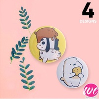 We Bare Bear Badges/Keychain