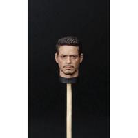 【精品收藏】現貨包郵 1/9 高品質第三方托尼頭雕 可配kingart鋼鐵人MK46