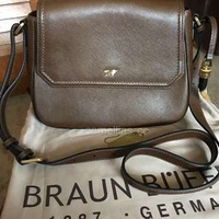 Braun Buffel messenger/crossbody bag