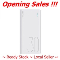 Romoss Sense 8+ 30000mAh Powerbank Fast Charge with QC 3.0  ~ Ready Stock ~ Fast Delivery ~