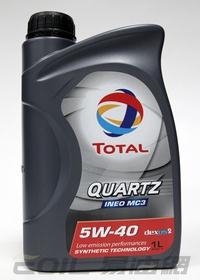 TOTAL QUARTZ INEO MC3 5W40 合成機油