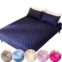[滿額免運]透氣防潑水技術處理床包式保潔墊 單人|雙人|加大|特大|加高訂做(六色任選)[艾拉寢飾]