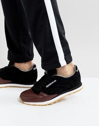 Reebok Classic Leather LS Sneakers In Black BS 5079