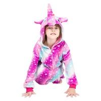 factory Flannel Children Pajamas Set Winter Hooded Animal Unicorn Pikachu Stitch Kids Pajamas For Bo