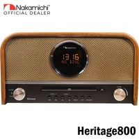Nakamichi Heritage800 Desktop Bluetooth Speaker System with FM Radio and CD Player