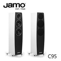 【展示福利品】JAMO C95 落地式喇叭(緞面白色)