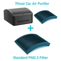 Xiaomi 70Mai Car Air Purifier Vehicle Car Air Fresh Pm2.5 Filter Clean Formaldehyde