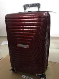 Brand New Samsonite Astra 55cm Luggage (Red)