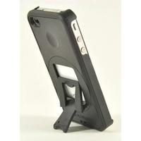 美國ZeroChroma TEATRO Case/Stand for iPhone 4 專利可調整14段角度站立式隨身劇院保護殼 黑色/黑色