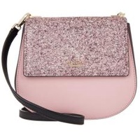 Kate Spade Cameron Street Byrdie Glitter Saffiano leather crossbody bag ( Pink )