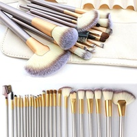 (VANDER LIFE) Make up Brushes, VANDER LIFE 24pcs Premium Cosmetic Makeup Brush Set for Foundation...
