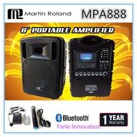 Martin Roland 8 Inch Portable Amplifier (MPA 888) 1 Year Local Warranty