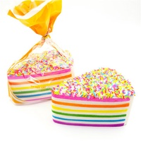 SquishyFun Jumbo Squishy Rainbow Shortcake Slow Rising Gift Decor Toy
