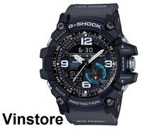 Casio G-shock Mudmaster Dark Grey Band Light blue Face Accent GG-1000-1A8 GG1000-1A8 GG-1000-1A8DR