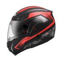 ZEUS 瑞獅 3300 ZS-3300 GG19 消黑/紅 雙鏡片 內襯全可拆 全罩 可掀 可樂帽